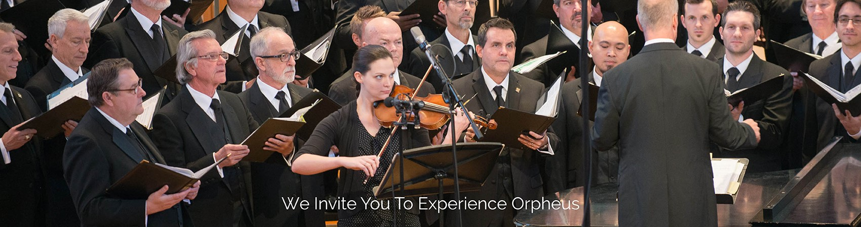 We Invite You To Experience Orpheus